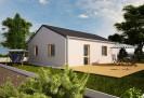 Projekt bungalovu, přízemní dům 2+kk, 902