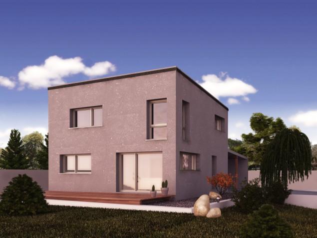 Rodinný dům 5+1/kk s pultovou střechou, možno i pasivní, 513 č.1