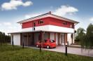 Projekt patrový rodinný dům 5+kk, možno i pasivní dům, 509