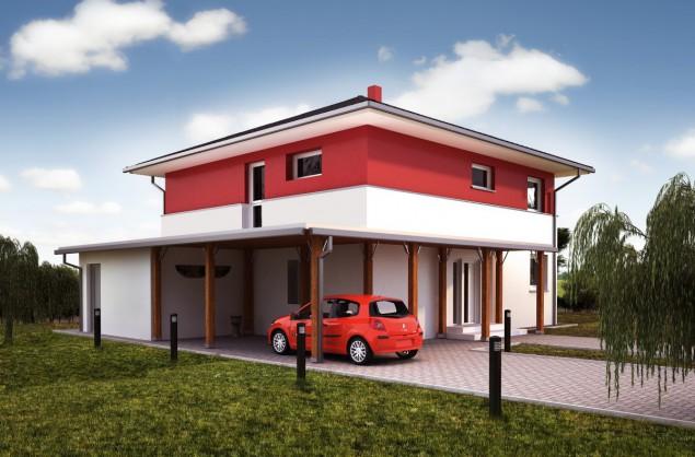 Projekt patrový rodinný dům 5+kk, možno i pasivní dům, 509 č.1