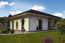 Projekt bungalovu tvaru