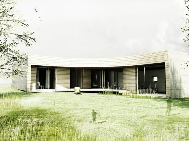 Nízkoenergetický bungalov 6+kk s atypickou terasou Plzeň č.1