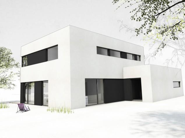 Moderní nízkoenergetický dům rodinný 7+kk s garáží Praha č.1