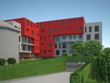 Developerský projekt bytového domu Jíkalka
