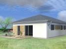 Projekt bungalovu 5+kk, s maximálně využitou plochou, 807