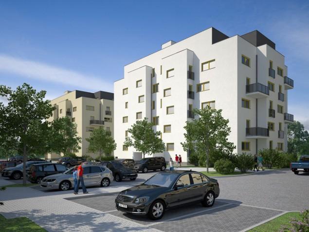Projekty bytových domů - bytové domy Plzeň-Bolevec č.3