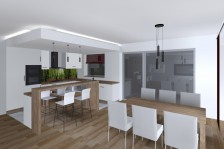 Interiéry - kuchyně, jídelna