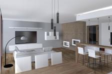 Interiéry - obývací pokoj
