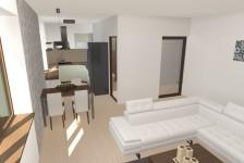 Interiér bytu - kuchyně