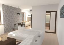 Interiér bytu - obývací pokoj