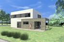 Moderní rodinný dům 5+kk s dvougaráží a terasou Hostivice