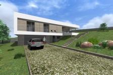Moderní rodinný dům 5+kk ve svahu