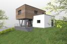 Moderní rodinný dům 4+kk ve svahu