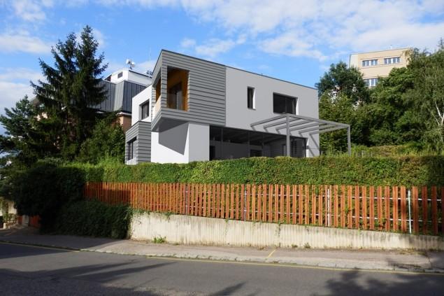 Rekonstrukce luxusního rodinného domu Praha