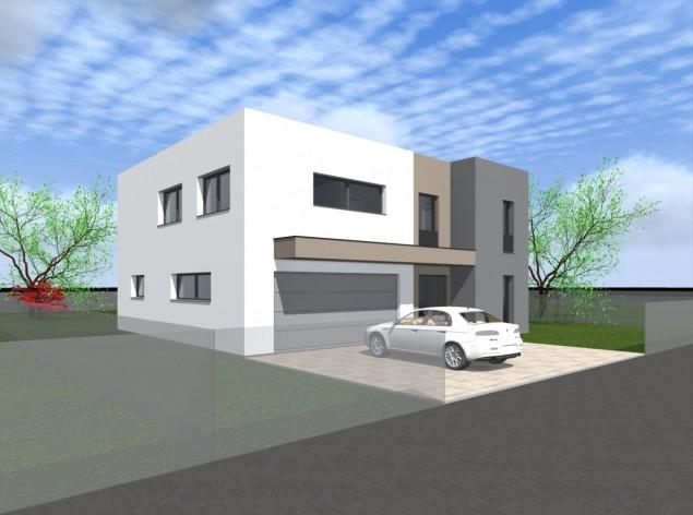 Moderní velkorysý dům s dvougaráží Zbuzany č.1