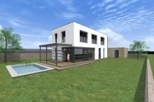 Moderní pasivní rodinný dům