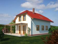 Variabilní projekt rodinný dům 6+1/kk, valbová střecha, 007
