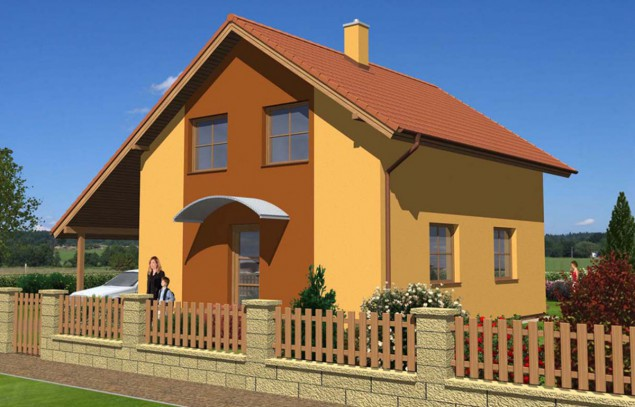 Rodinný dům 5+kk s přístřeškem pro auto či garáží, 009 p č.1