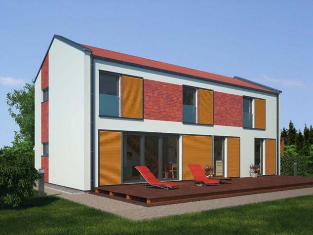 Projekt rodinného domu 5+kk, lze jako pasivní dům, 013 č.1