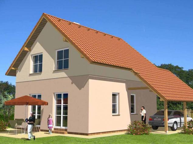 Projekt přízemní rodinný dům využitelné podkroví 5+kk, 021 č.1