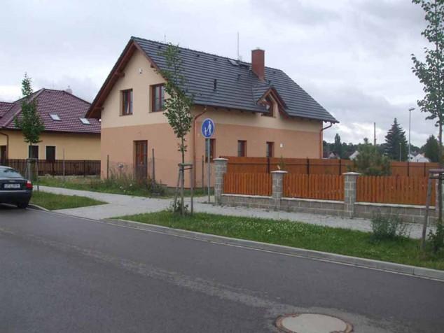 Projekt přízemní rodinný dům s podkrovím a vikýři 5+1, 022 č.1