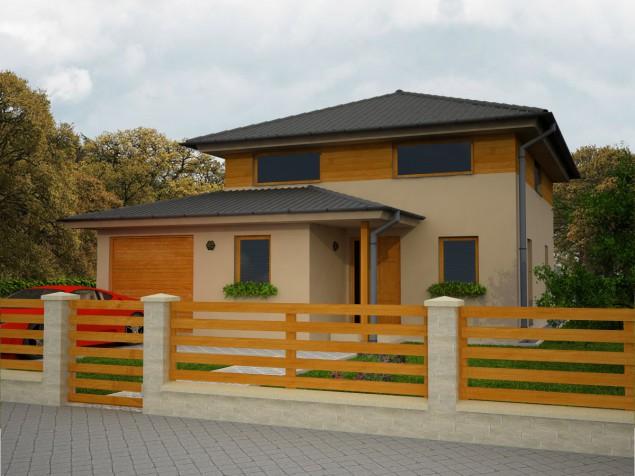 Oblíbený projekt rodinný dům s garáží a pracovnou 6+kk, 024 č.1