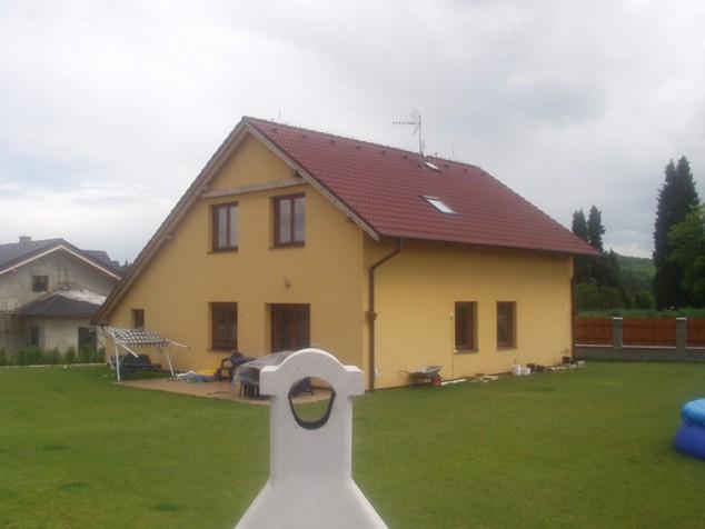 Projekt rodinného domu se sedlovou střechou 5+kk, 028 č.1