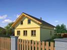 Projekt rodinný dům 6+kk s možností dostavby podkroví, 030