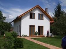 Projekt rodinný dům na úzký pozemek 6+kk možnost garáže, 034