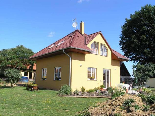 Projekt rodinný dům s vikýři 4+1, využitelné podkroví, 042 č.1
